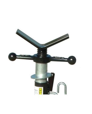 Têtes V standard pour trépied -pour tubes jusque 24 pouces de diamètre -