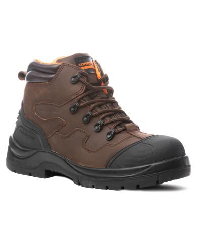 Chaussure de sécurité Terralite S3 Haute cuir marron