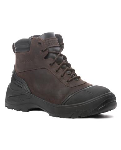 Chaussure de sécurité Titanite S3 Haute cuir marron composite